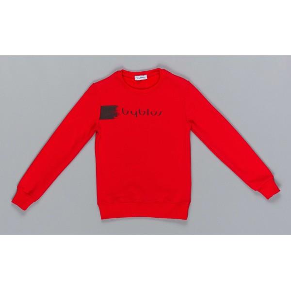 Μπλούζα αγοριού σε κόκκινο χρώμα της εταιρίας ΒYBLOS BU4809