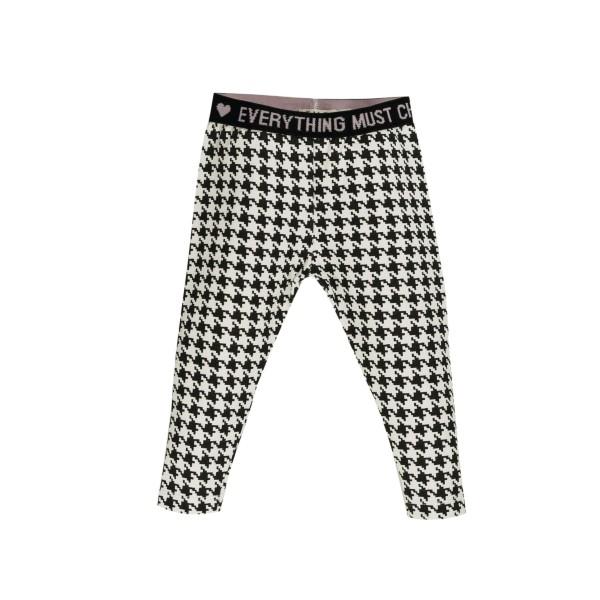 Κολάν παντελόνι ασπρόμαυρο κοριτσιού EMC BZ6596211100