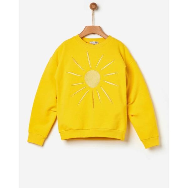 Μπλούζα φούτερ κοριτσιού led sun της εταιρίας YELL-OH! 42170133044
