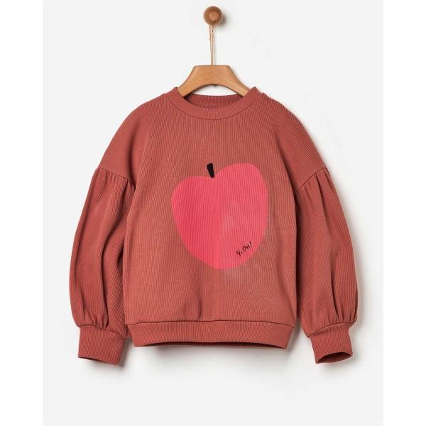 Μπλούζα φούτερ κοριτσιού σομών canyon oversized της εταιρίας YELL-OH! 42170333059