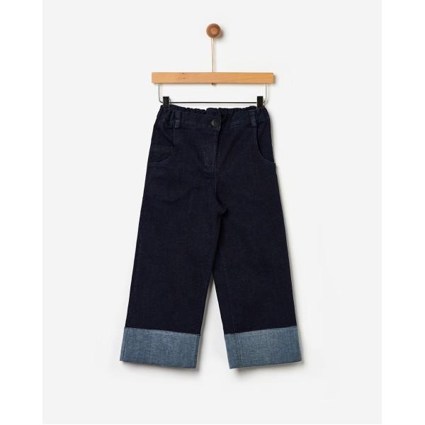 Παντελόνα κοριτσιού jeans blue της εταιρίας YELL-OH! 42170343031
