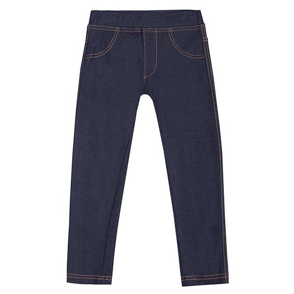 Κολάν παντελόνι κοριτσιού σε μπλε χρώμα  UBS2 H211509_999