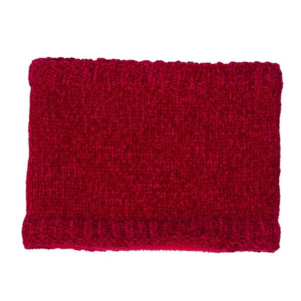 Κασκόλ λαιμός για κορίτσι σε κόκκινο- μπορντό χρώμα πολύ ζεστό UBS2  H216506