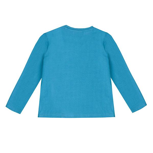 Μπλούζα αγοριού σε γαλάζιο χρώμα  UBS2  H219556_999