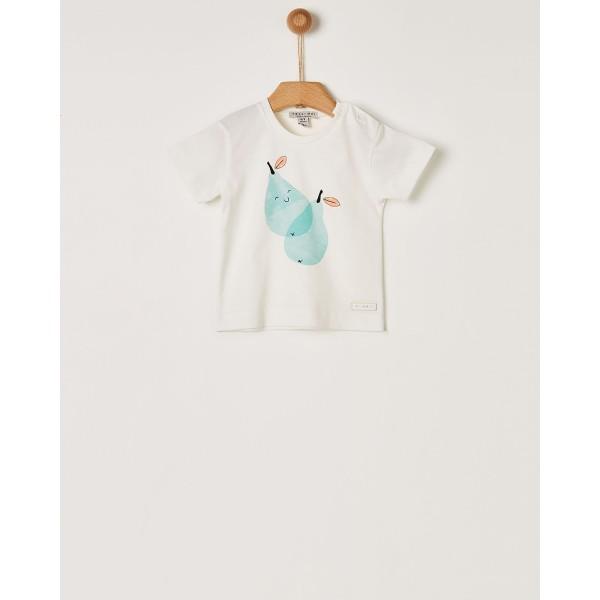 Μπλουζάκι κοριτσιού off-white printed της εταιρίας YELL-OH!