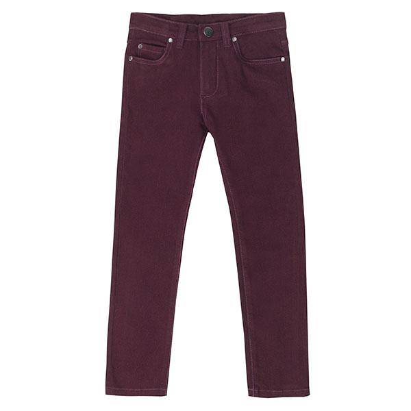 Παντελόνι αγοριού σε μπορντώ χρώμα  UBS2 CTD1010_29