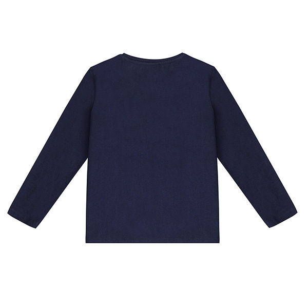 Μπλούζα αγοριού  σε μπλε χρώμα / σχέδιο δεινόσαυρος  UBS2  H219558_999