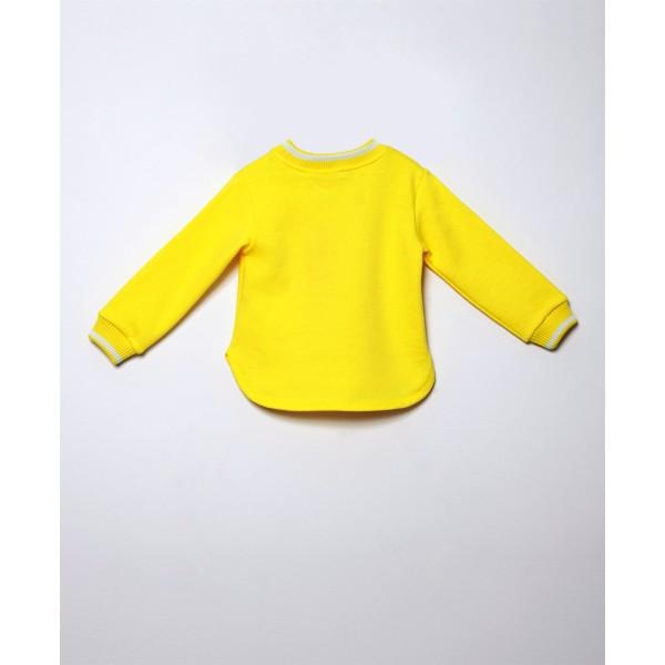 Μπλούζα κοριτσιού κίτρινο  χρώμα με σχέδιο λουλούδι της εταιρίας AGATHA 7SS3131