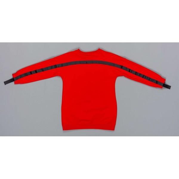 Μπλούζα κοριτσιού κόκκινο χρώμα με λεπτομέρειες στο μπροστινό μέρος  Artigli A12356-1