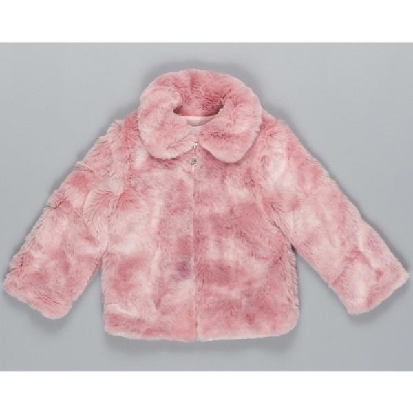 Γουνάκι κοριτσιού σε ροζ χρώμα με φερμουαρ που κλείνει  της εταιρίας ΒYBLOS BJ14167