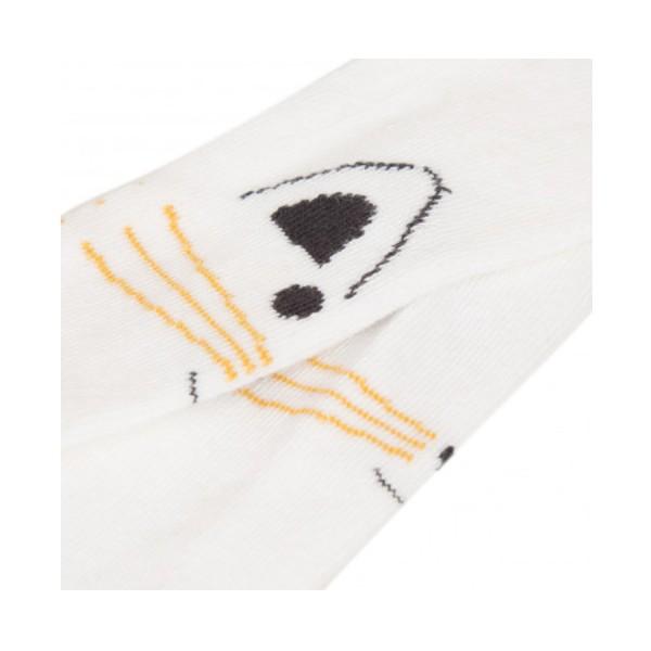 Καλσόν εκ ρου  κίτρινο με σχέδιο γατούλα absorba