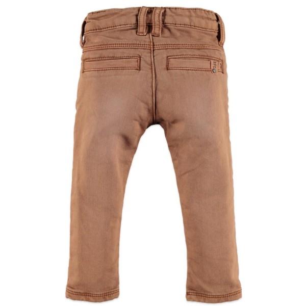Παντελόνι αγοριού jeans πολύ μαλακό σε καφέ-ταμπά χρώμα με τσέπες της εταιρία Babyface
