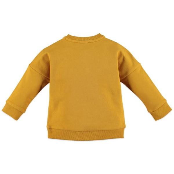 Μπλουζάκι κοριτσιού σε κίτρινο χρώμα με σχέδιο στο μπροστινό μέρος της εταιρίας Babyface
