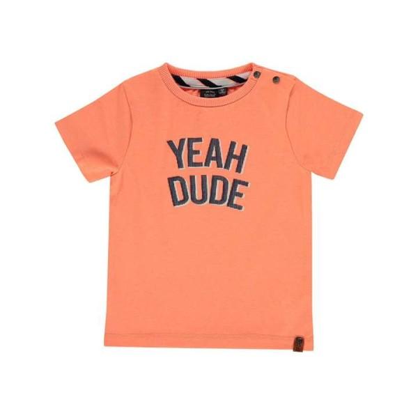 T-shirt σε πορτοκαλί χρώμα με σχέδιο  τύπωμα στ μπροστινό μέρος της εταιρίας Babyface