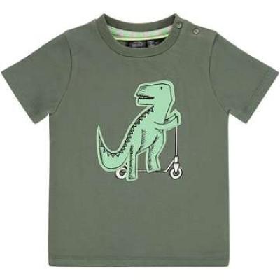 T-shirt σε χακί πράσινο χρώμα με σχέδιο Dino deinonychus της εταιρίας Babyface