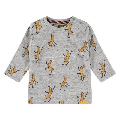 Μπλουζάκι αγοριού newborn σε γκρι χρώμα σχέδιο μπανάνες της εταιρίας Babyface  NWB21427607