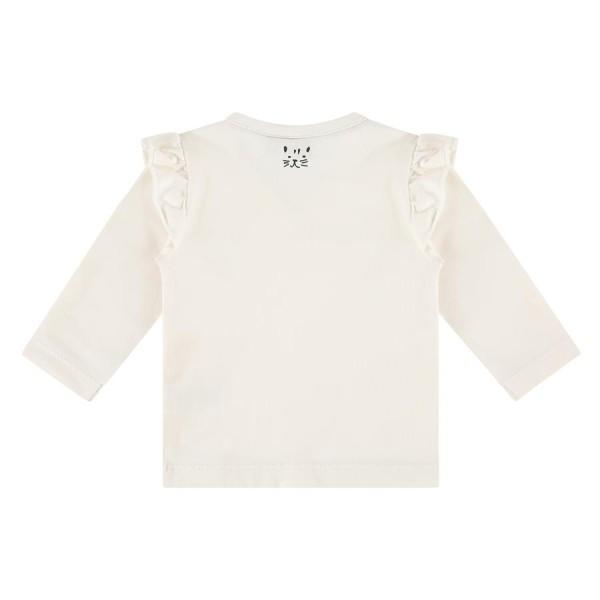 Μπλουζάκι κοριτσιού newborn σε εκρού χρώμα με τύπωμα ζωάκια της εταιρίας Babyface NWB21528624