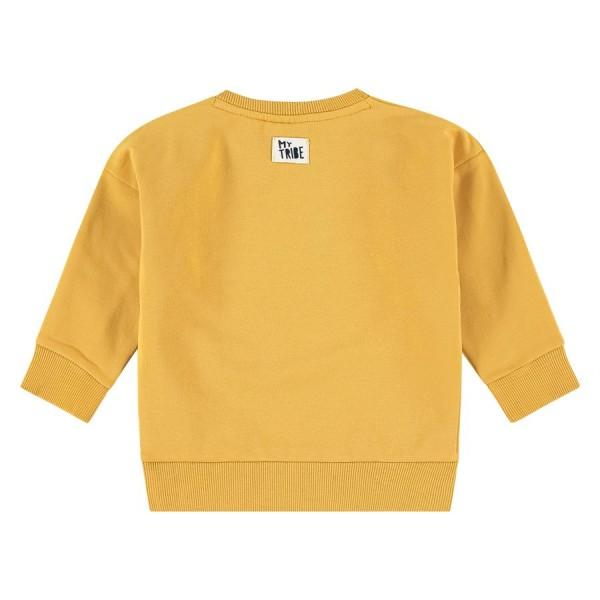 Μπλούζα αγοριού σε κίτρινο-μουσταρδί χρώμα με λεπτομέρειες στο μπροστινό μερος της εταιρίας Babyface BBE21507477
