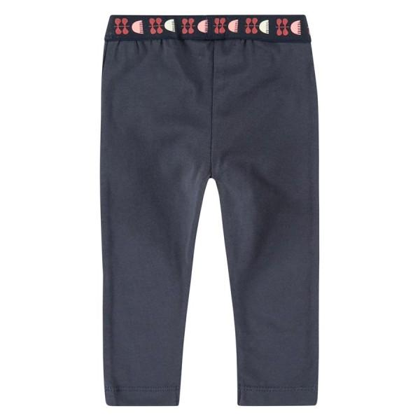 Παντελόνι κοριτσιού κολάν με λάστιχο στην μέση σε μπλε χρώμα της εταιρία Babyface BBE21508282