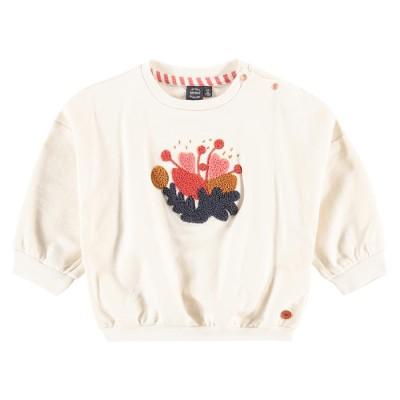 Μπλουζάκι κοριτσιού εκρού χρώμα με σχέδιο στο μπροστινό μέρος της εταιρία Babyface BBE21508470