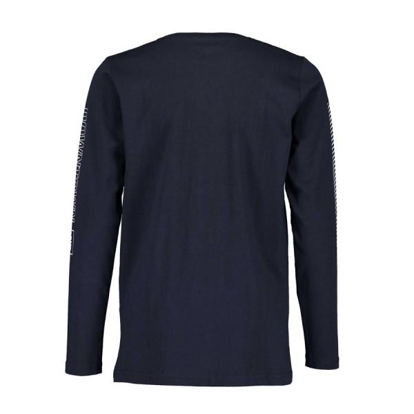 Μπλούζα αγοριού  μπλέ με λεπτομέρεια town BLUE SEVEN 651626