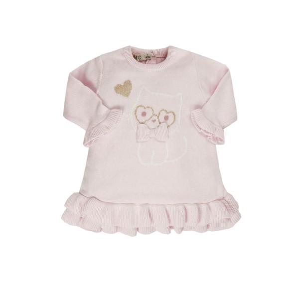 Φορεμα κοριτσιού ροζ πλεκτό EMC  AA4600906001