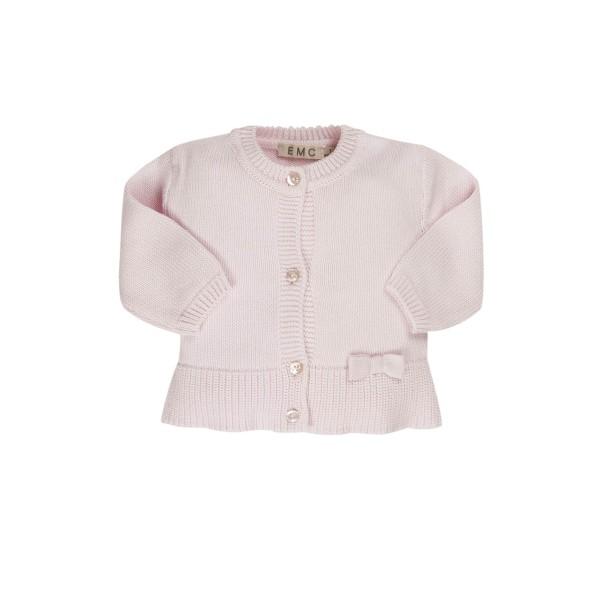 Ζακέτα κοριτσιού ροζ / πλεκτή EMC CE1649906001-4209