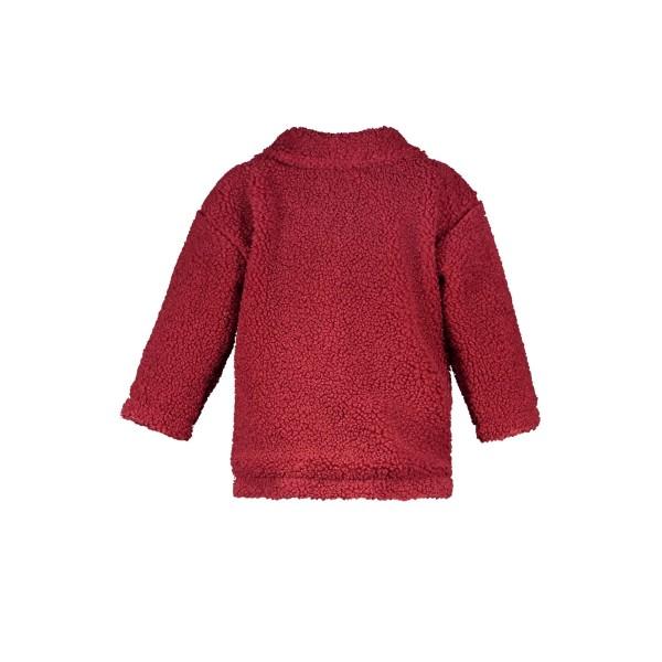 Παλτό κοριτσιού σε μπορντό χρώμα με κουμπιά της εταιρείας THE NEW CHAPTER  D107-0210_291