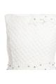 Φόρεμα μεταξωτό χειροποίητο με κέντημα φερμουάρ λευκό κορίτσι petit