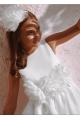 Φόρεμα μεταξωτό χειροποίητο  κορίτσι petit