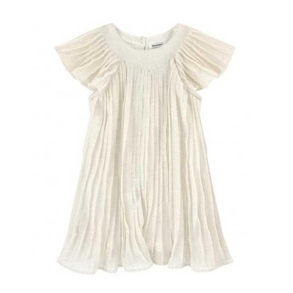 Φόρεμα για κοριτσάκι κρεμ 3 Pommes