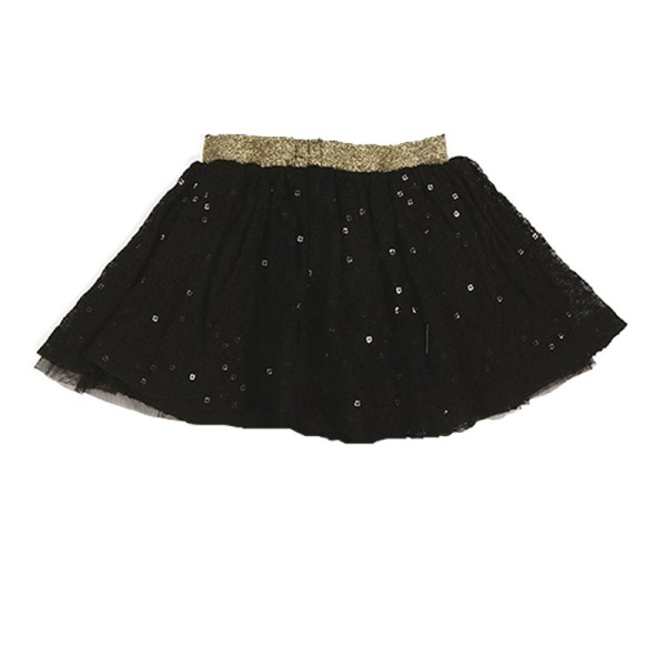 Φούστα κοριτσιού μαύρη τύπου μπαλαρίνα 3Pommes