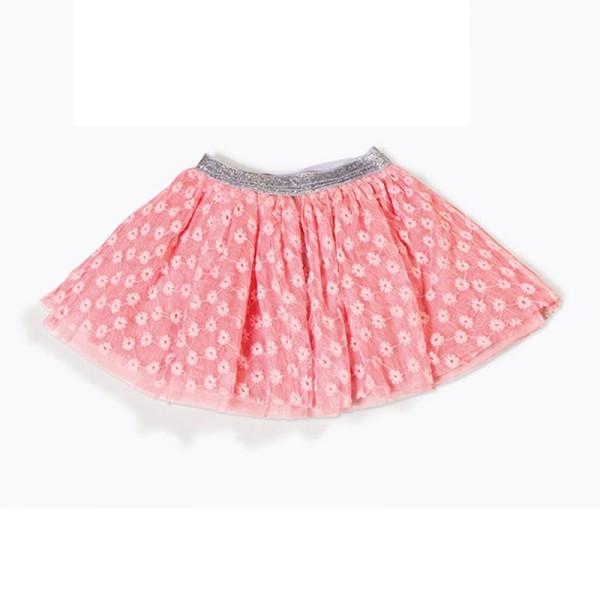 Φούστα κοριτσιού ρόζ τύπου μπαλαρίνα 3Pommes