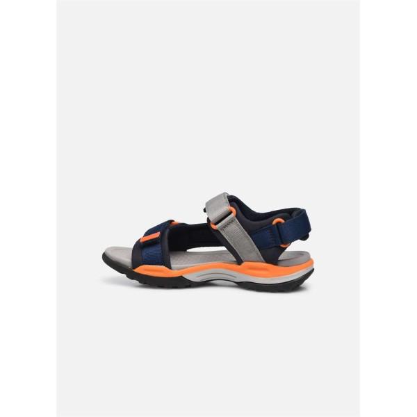 Παπούτσι κοριτσιού Geox Sandales - J Borealis Navy-Orange