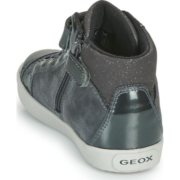 Παιδικά μποτάκια Geox κορίτσι B Kilwi Γκρί