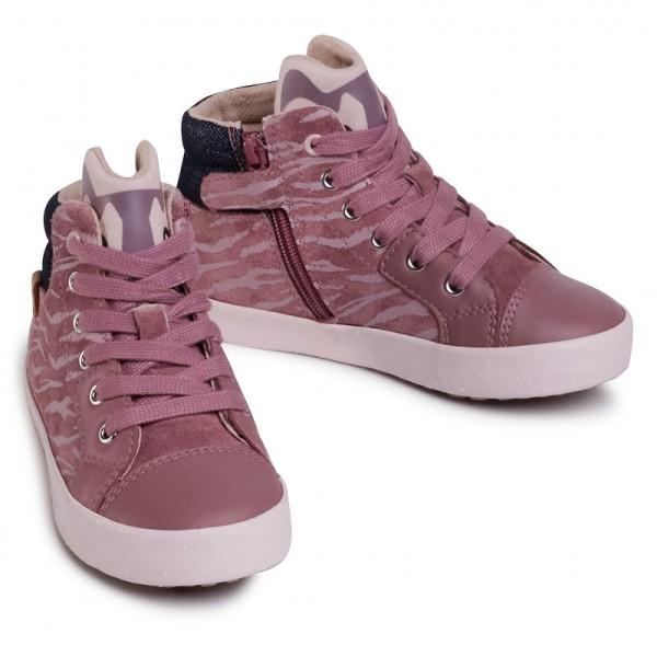 Μποτάκι για κορίτσι Suede ροζ -Geox B Kilwi