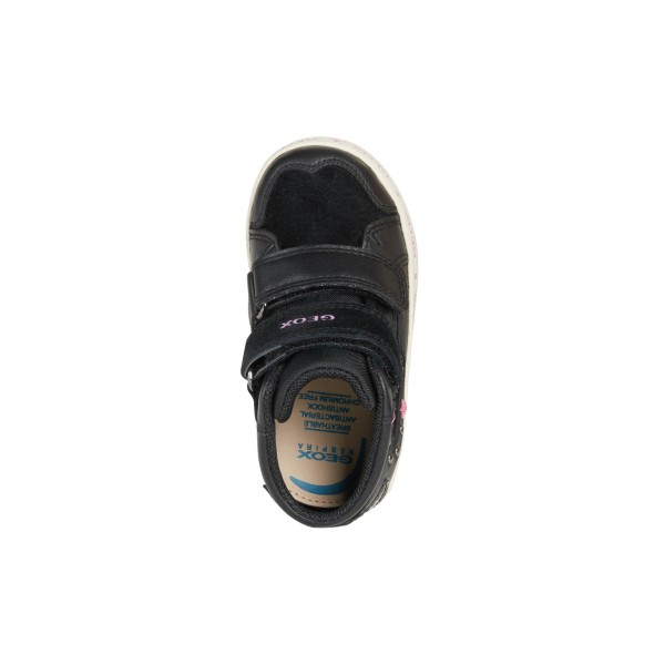 Παπούτσι κοριτσιού μποτάκι σε μαυρο χρώμα της εταιριας Geox B16D5A 08554 C9999