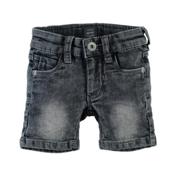 Βερμούδα αγοριού jeans - BLUE GREY DENIM - Babyface.