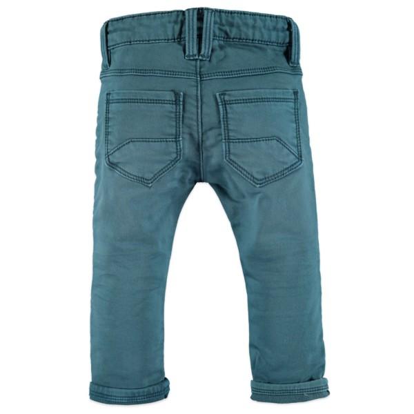 Παντελόνι βαμβακερό πετρολ με τσέπες φερμουάρ αγόρι Babyface