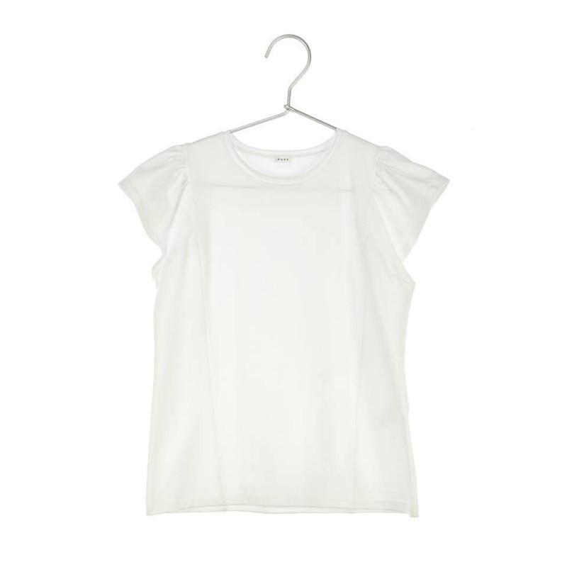 Μπλούζα μακό λευκή κοντό μανίκι κορίτσι daniele