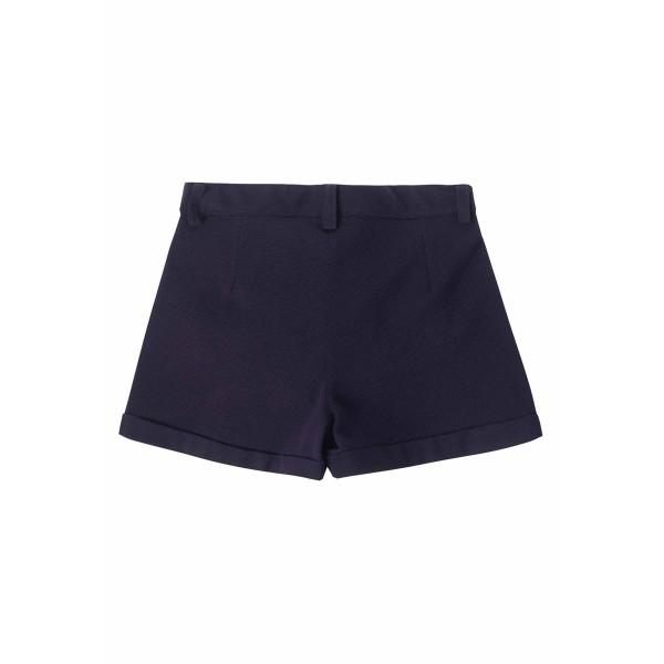 Παντελόνι σορτς μπλε κορίτσι ubs2