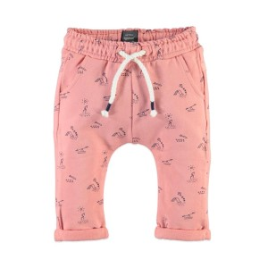 Φόρμα παντελόνι κοριτσιού ροζ Babyface PEACH