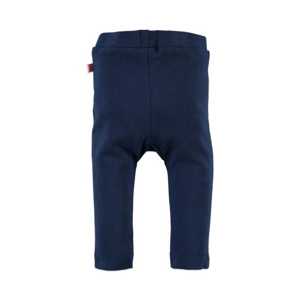 Κολάν παντελόνι  βρεφικό κοριτσιού σε μπλε χρώμα Babyface - MIDNIGHT BLUE