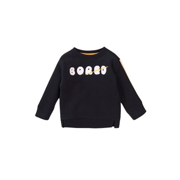 Μπλούζα αγοριού φούτερ σε μαυρο χρώμα της εταιρίας Μinoti Doubt5