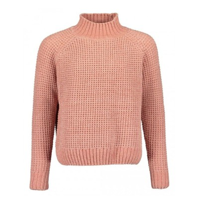 Mπλούζα pullover κοριτσιού ζεστό σε ρόζ χρώμα BLUE SEVEN  576154