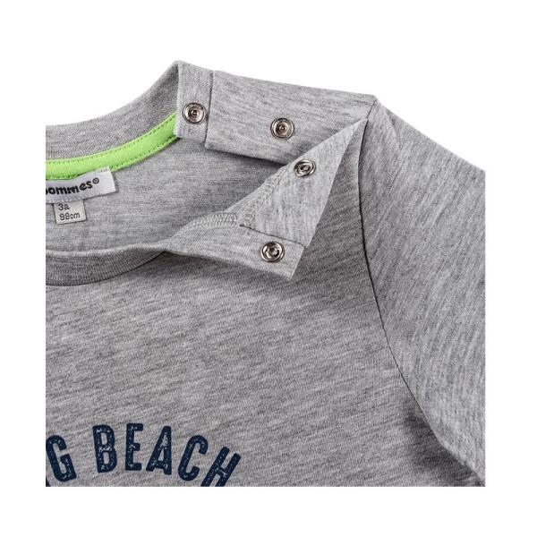 Μπλούζα αγοριού καλοκαιρινή γκρι χρώμα 3Pommes