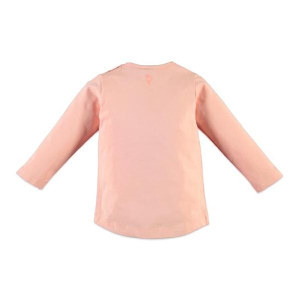 Μπλούζα μακρυμάνικη κοριτσιού ροζ Babyface salmon pink