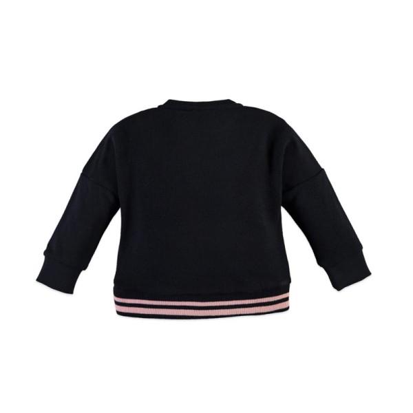 Μπλούζα κοριτσιού Girls sweatshirt  σε μπλέ χρώμα, σχέδιο μπαλόνι από την εταιρία Babyface
