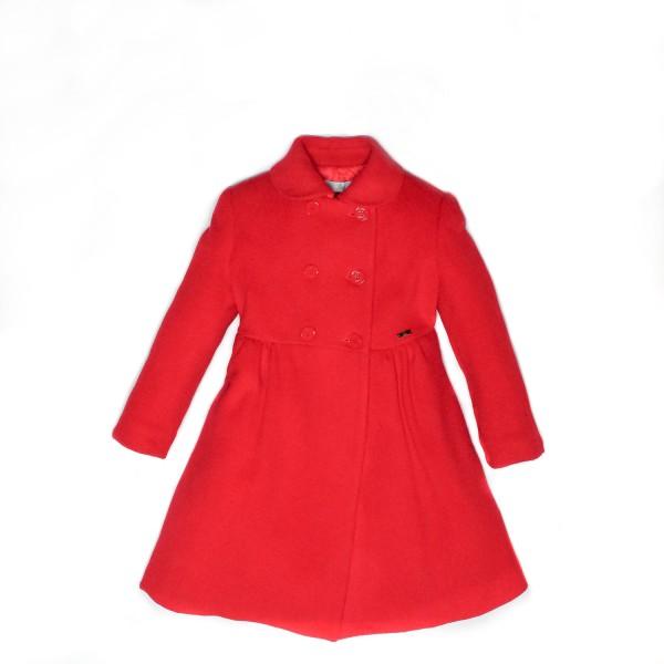 Παλτό κόκκινο μπερε κοριτσι Petit