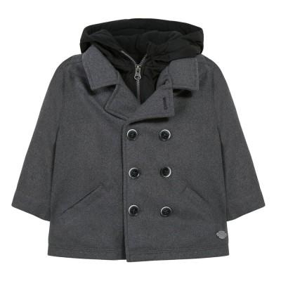 Παλτό αγοριού γκρι Absorba